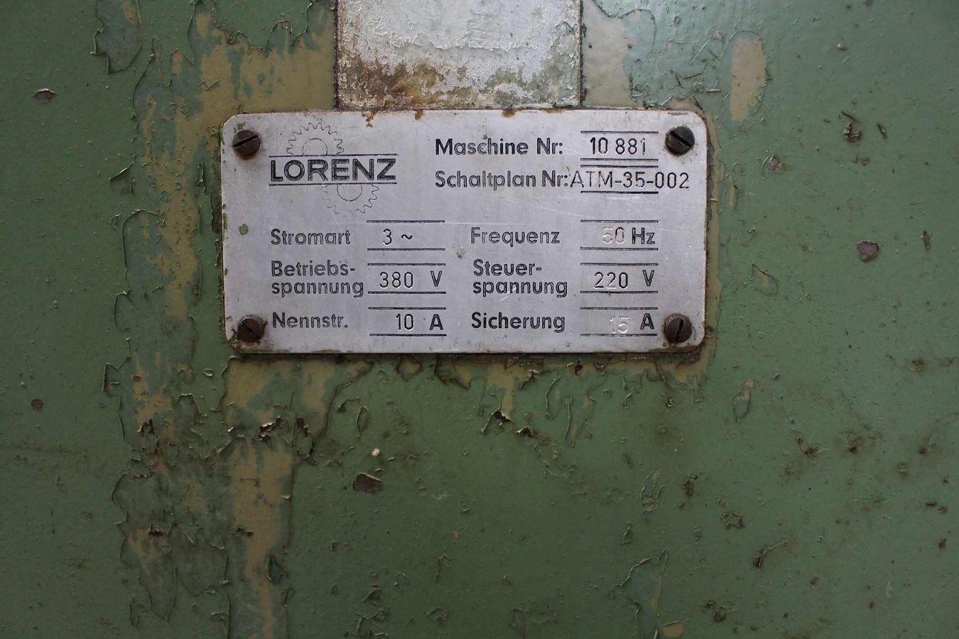 Lorenz Zahnkanten Fräsautomat - Wiemers AG Werkzeugmaschinen u ...